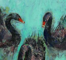 Black Swans Sticker