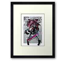 Envy Adams- Scott Pilgrim Fight! (Alt) Framed Print