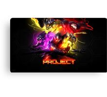 League Of Legends SKINS PROYECT Canvas Print