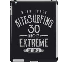 Kitesurf 30 Knots Extreme Sport iPad Case/Skin