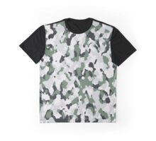 Green camouflage pattern Graphic T-Shirt