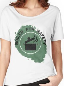 Boiled For Safety - Rhett And Link GMM Women's Relaxed Fit T-Shirt
