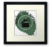 Boiled For Safety - Rhett And Link GMM Framed Print