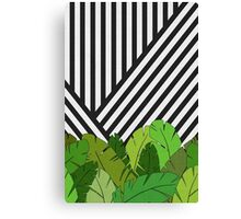 Green Direction Canvas Print