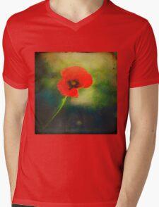 I Found a Poppy Mens V-Neck T-Shirt