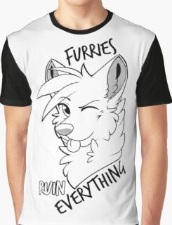 Furries ruin everything Graphic T-Shirt