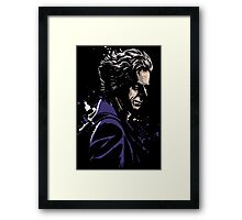12th Doctor Who Framed Print