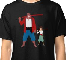 The boy and the beast - Father and son  (Wall art and shirts) Classic T-Shirt