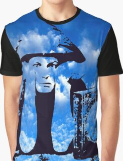 MAGIC IN THE CLOUDS with Aleister Crowley Graphic T-Shirt