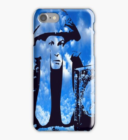 MAGIC IN THE CLOUDS with Aleister Crowley iPhone Case/Skin