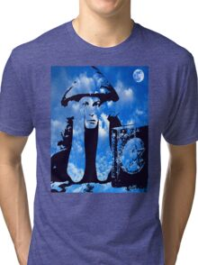 MAGIC IN THE CLOUDS with Aleister Crowley Tri-blend T-Shirt