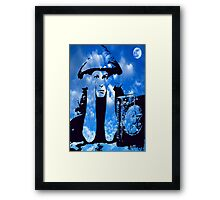 MAGIC IN THE CLOUDS with Aleister Crowley Framed Print