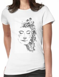 Flowers in Your Hair Womens Fitted T-Shirt