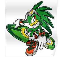 Sonic Riders - Jet the Hawk Poster