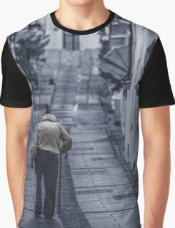 Blue lonely street Graphic T-Shirt