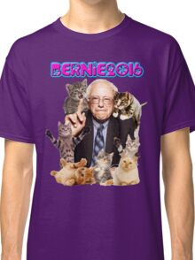 bernie with cats Classic T-Shirt
