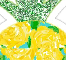 Lilly Pulitzer Pineapple Sticker