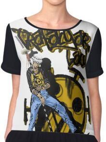 trafalgar law 'heart pirates' Chiffon Top