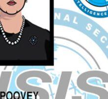 Pam Poovey ID Badge Sticker