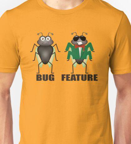 Bug vs Feature Unisex T-Shirt