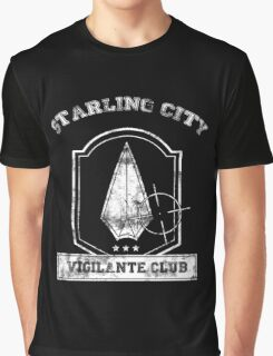 Starling City Vigilante Club Graphic T-Shirt