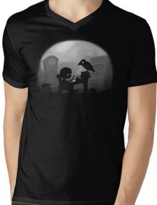Land of Mysteries Mens V-Neck T-Shirt
