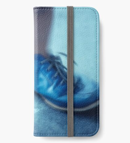 blue shoes iPhone Wallet/Case/Skin