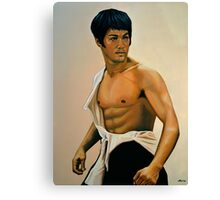 Bruce Lee Painting Canvas Print