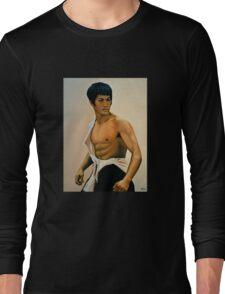 Bruce Lee Painting Long Sleeve T-Shirt