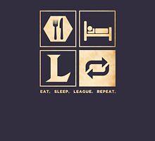 Eat. Sleep. League. Repeat. Unisex T-Shirt