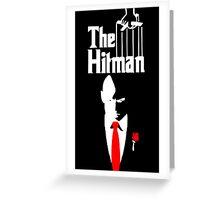 The Hitman Greeting Card