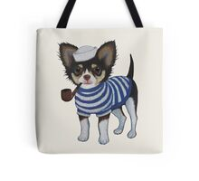 Sailor Chihuahua Tote Bag