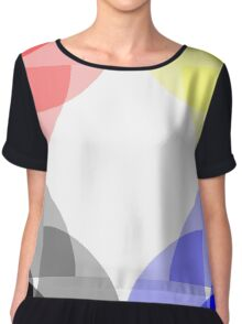Primary Colours Chiffon Top