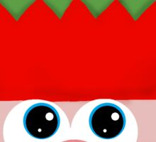Christmas Elf Sticker