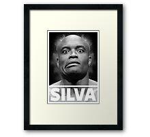 Anderson Silva Framed Print