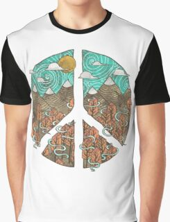 Mountain Peace Graphic T-Shirt