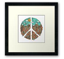 Mountain Peace Framed Print