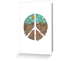 Mountain Peace Greeting Card