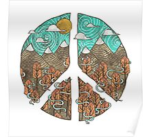 Mountain Peace Poster