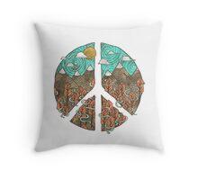 Mountain Peace Throw Pillow