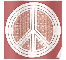 Coastal Hippie Peace Poster
