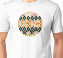 Folkloric Crazy Quilt Boho Unisex T-Shirt