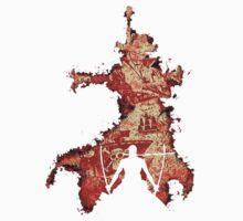 zoro vs mihawk 'one piece' One Piece - Short Sleeve