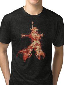 zoro vs mihawk 'one piece' Tri-blend T-Shirt