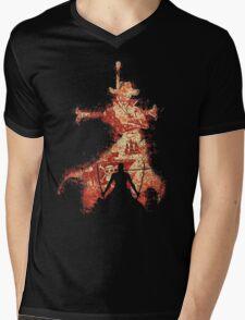 zoro vs mihawk 'one piece' Mens V-Neck T-Shirt
