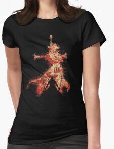zoro vs mihawk 'one piece' Womens Fitted T-Shirt