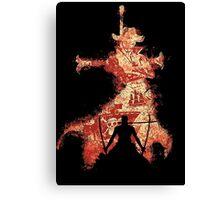zoro vs mihawk 'one piece' Canvas Print