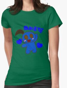 BUH BYE Womens Fitted T-Shirt