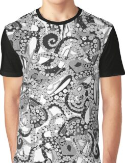 tentacles mono Graphic T-Shirt