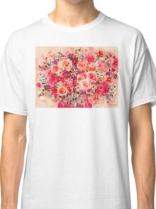 Cottage Roses Classic T-Shirt